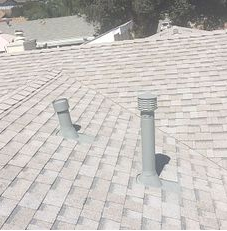 Corona, CA - With this new roof, you can rest assured that you will be leak free for the rain to come. For this project we used Owens Corning Titanium UDL30 and Owens Corning Weather Lock - Ice and Water Shield in crucial areas. The shingles we used are Owens Corning Tru Definition Duration Sure Nail Shingle Roof System in the color Oyster Shell.