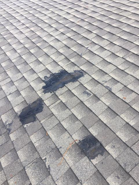 Riverside, CA - This customer contacted us to repair some leaks on her roof. Shingles and underlayment had to be replaced and wood inspected for dry rot.