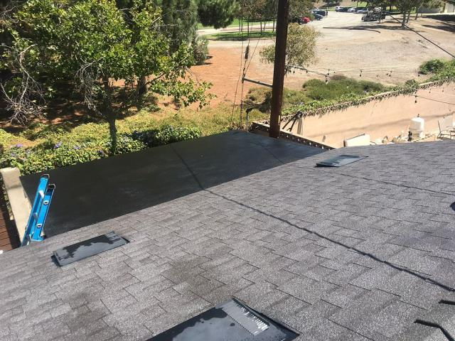 Rancho Cucamonga, CA - Lastly, we installed new Owens Corning Tru Def Duration Cool Roofing composition shingles.