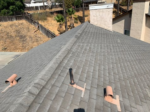 Moreno Valley, CA - This customer reached out to us to get an estimate for a roof replacement.