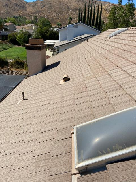 Moreno Valley, CA - This customer was looking for a leak and fascia repair for their roof.