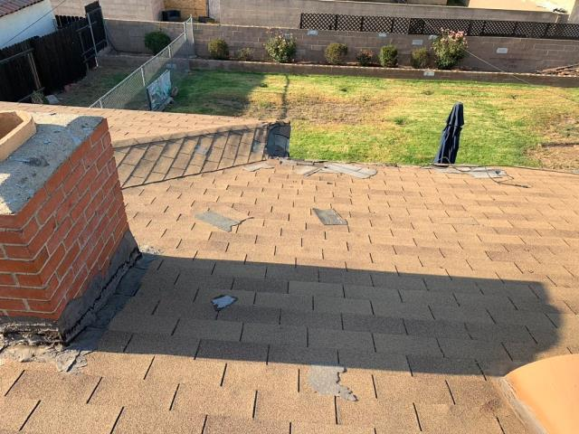 Corona, CA - Customer wanted to get a free estimate on a roof replacement.