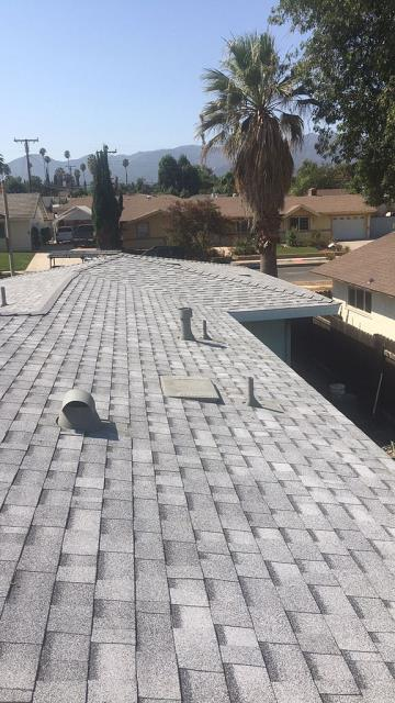 Corona, CA - We then installed Oakridge Starter Shingles, and finally Owens Corning Tru Def Duration Sure Nail Shingle Roof System.