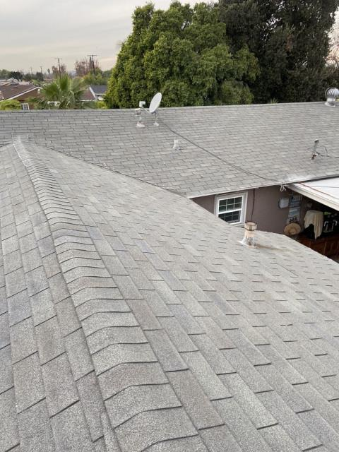 Pomona, CA - This customer wanted us to come and give an estimate on repairs for her roof. After our technician went out there and spoke to the customer, they decided to do a reroof.