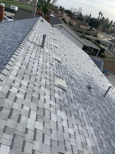 Chino, CA - Then we installed brand new Oakridge Starter Shingles with Owens Corning Tru Def Duration Sure Nail Shingle Roof System.