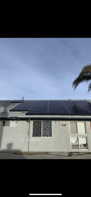 Chino, CA - Owens Corning Tru Def Duration Cool Roofing shingles re-roof, and remove and reinstall solar panel