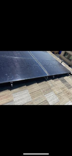 Fontana, CA - Roof repair-Solar Panel removal & Re Installation Fontana Felt Paper Boral Tile Seal SA Underlayment
