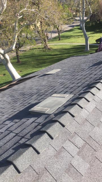 Yucaipa, CA - Re-roof using Owens Corning Deco Ridge  O'Hagin Tapered Shingles