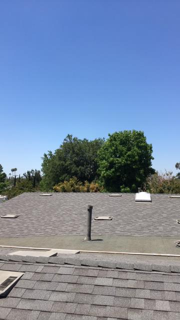 Riverside, CA - Re-roof using  Owens Corning Tru Def Duration Sure Nail Shingle Roof System - Cool Roofing, Mountainside, Owens Corning Deco Ridge, Mountainside
