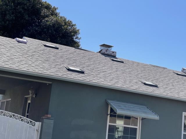 Riverside, CA - Roof repair using Owens Corning Tru Def Duration Sure Nail Shingle Roof System - Cool Roofing, Oyster Shell