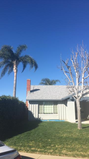 Chino, CA - Re-roof using Owens Corning Tru Def Duration Sure Nail Shingle Roof System - Cool Roofing, Sierra Gray