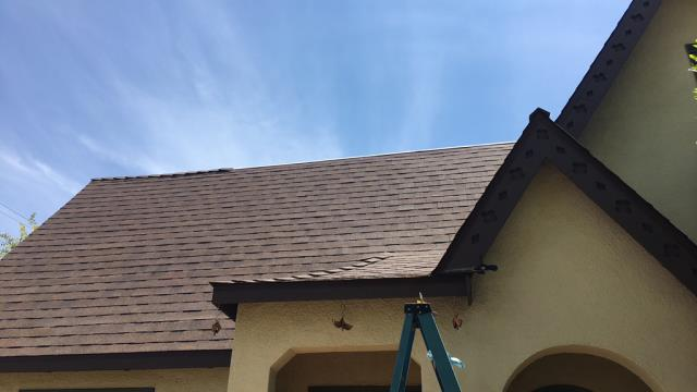Redlands, CA - Re-roof using Owens Corning Tru Def Duration Sure Nail Shingle Roof System - Cool Roofing, Forest Brown, Owens Corning Weather Lock - Ice and Water Shield