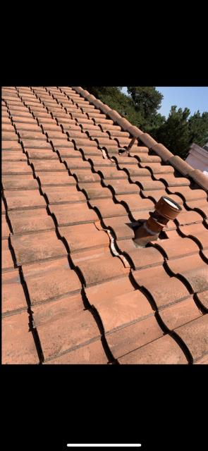 Corona, CA - Roof repair using Owens Corning Weather Lock - Ice and Water Shield