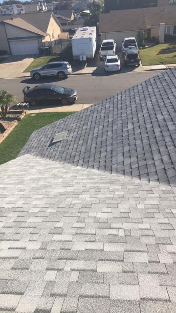 Chino, CA - Re-roof using Owens Corning Tru Def Duration Sure Nail Shingle Roof System - Sierra Gray
