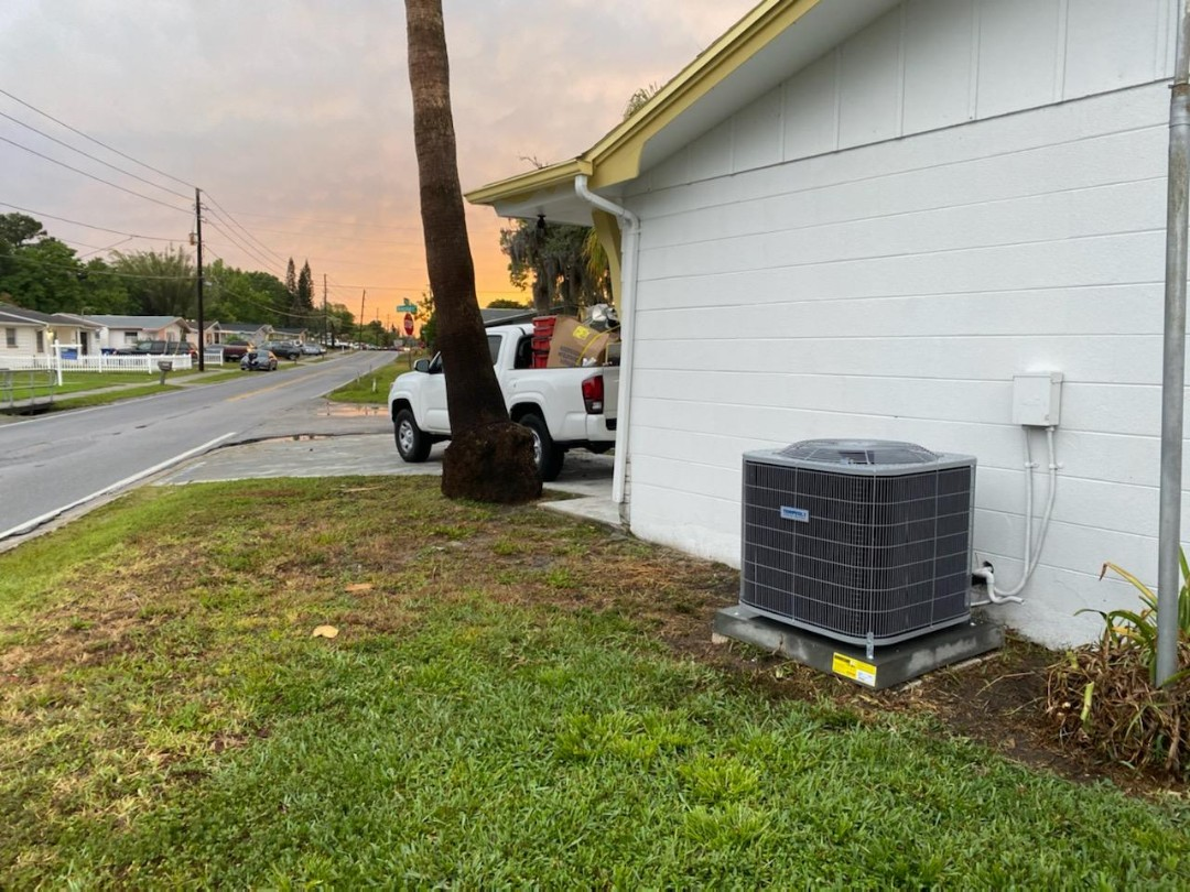 Holiday, FL - Ac unit replacement with new ductwork