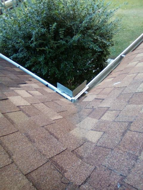 Chapin, SC - Small leak at the eaves of the home.  Removed the problem area and installed Ice and Water Shield and new shingles.