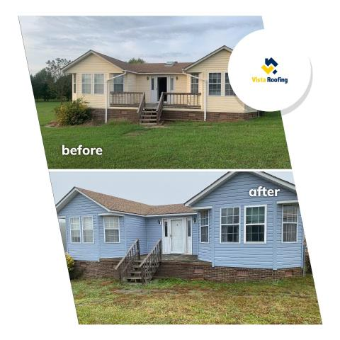 Chester, SC - Siding, soffit and fascia replacement