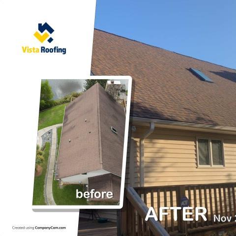 Chester, SC - Landmark Pro Burnt Sienna Roof Replacement