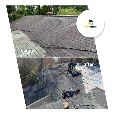 Chester, SC - Landmark Pewter Roof Replacement