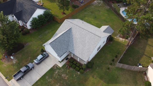 Lexington, SC - A newly satisfied customer with a new roof today in Lexington, SC! Give us a call at Vista Roofing today for all of your roofing and siding needs!