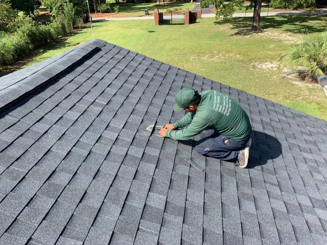 West Columbia, SC - Pesky roof leaks have easy solutions when you use Vista Roofing Inc. Give us a call today to help restored and repair your roof to as good as new!