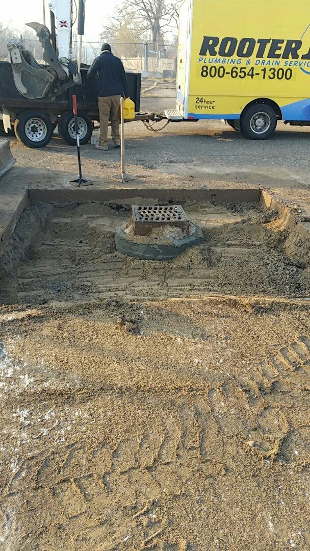 Detroit, MI - Catch basin repair, rebuild