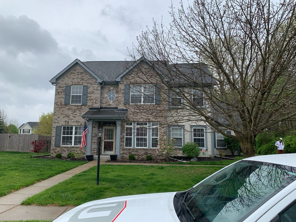 Brownsburg, IN - Missing shingle inspection