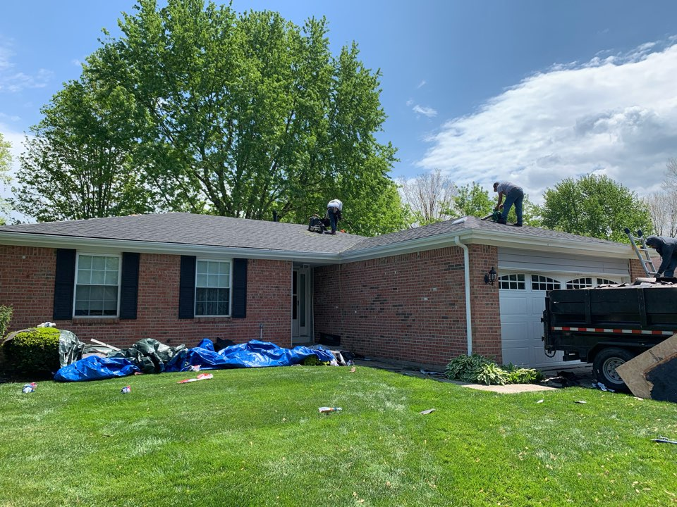 Fishers, IN - New roof