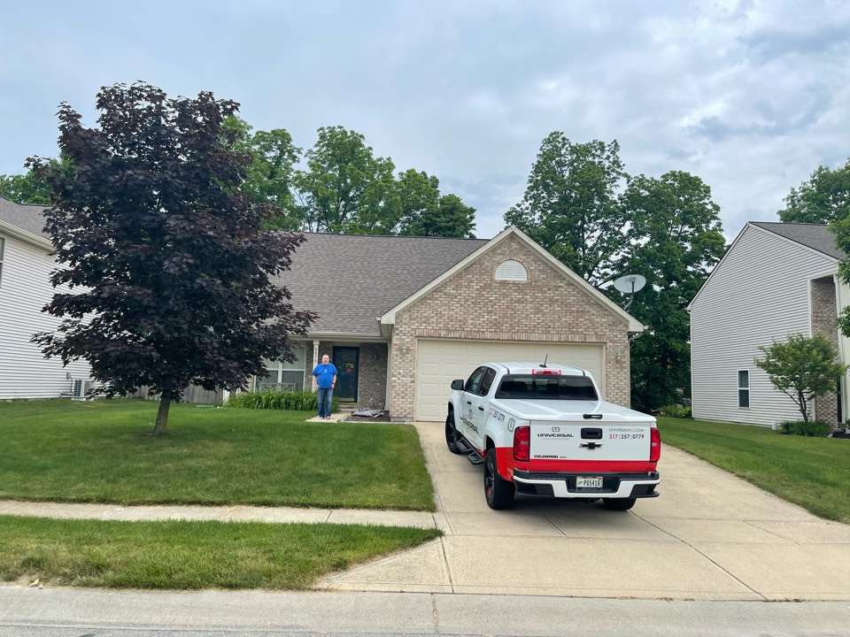 McCordsville, IN - Roof inspection