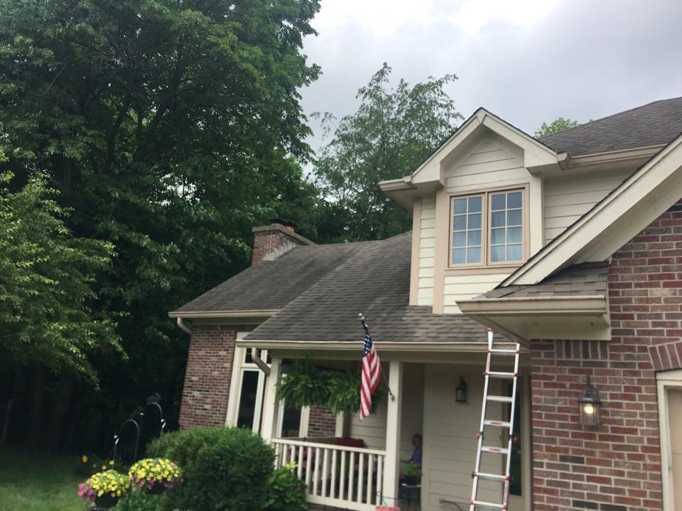 McCordsville, IN - Roof inspection for Realtor
