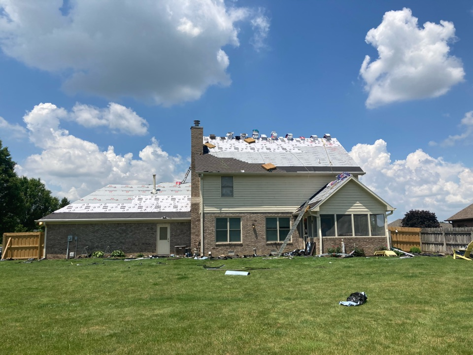 New Palestine, IN - Roof replacement
