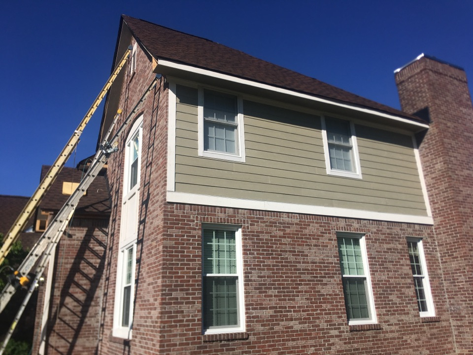 Carmel, IN - Siding almost completed
