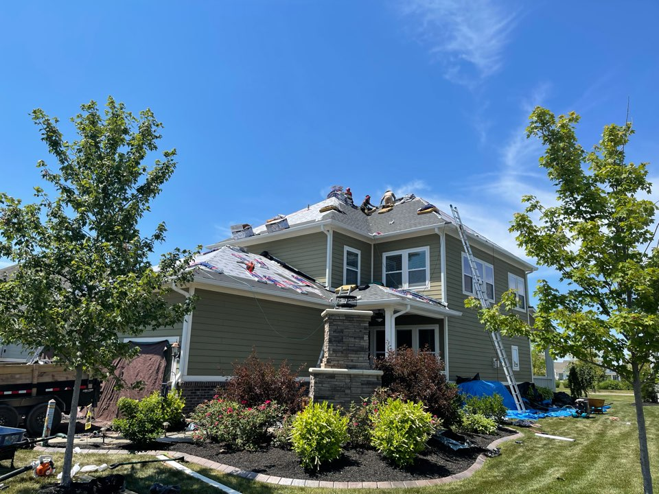 Westfield, IN - New roof almost completed