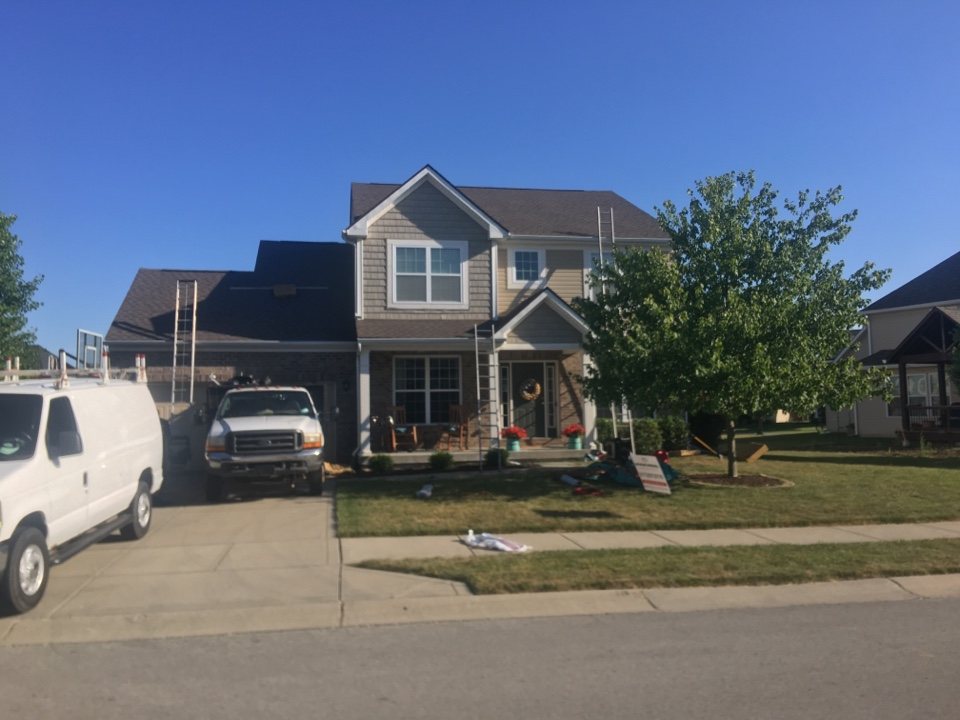 Westfield, IN - Roof completed