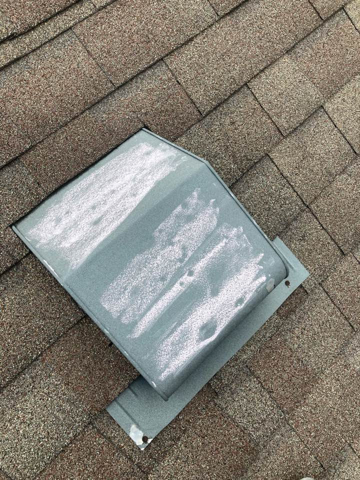 Greenfield, IN - Hail damage inspection