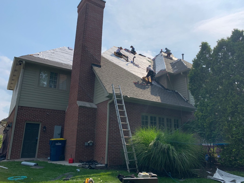 Indianapolis, IN - Roof install