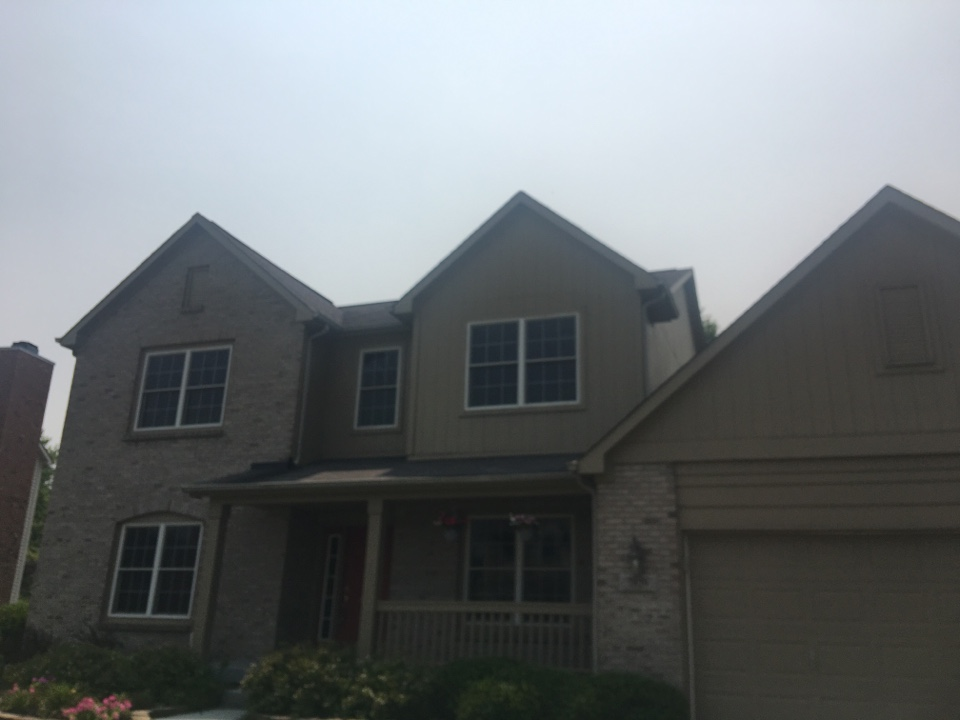 Brownsburg, IN - Roof inspection for Realtor