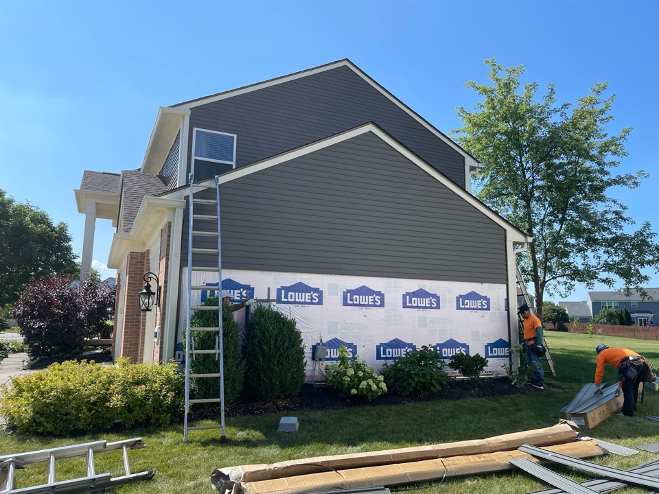 Westfield, IN - Siding replacement