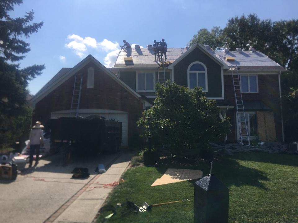 Carmel, IN - Roof tear off