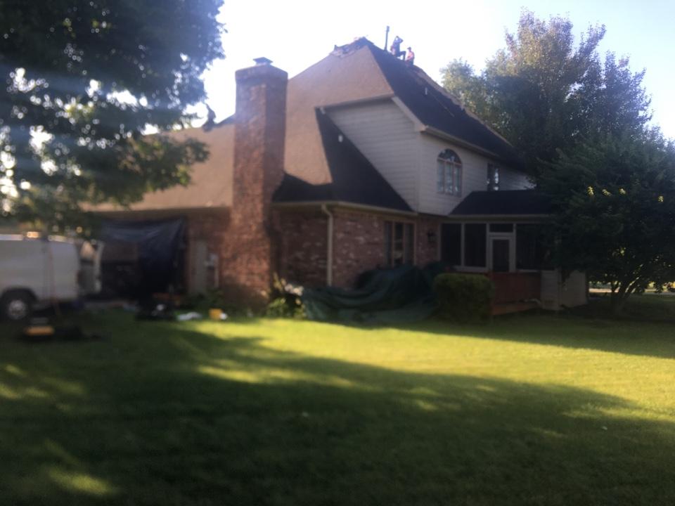 Carmel, IN - Roof tear off #1