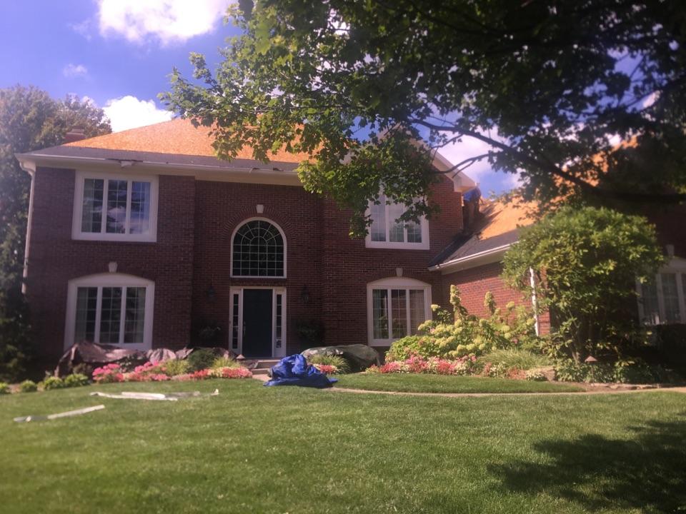 Carmel, IN - Roof tear off #2 torn off