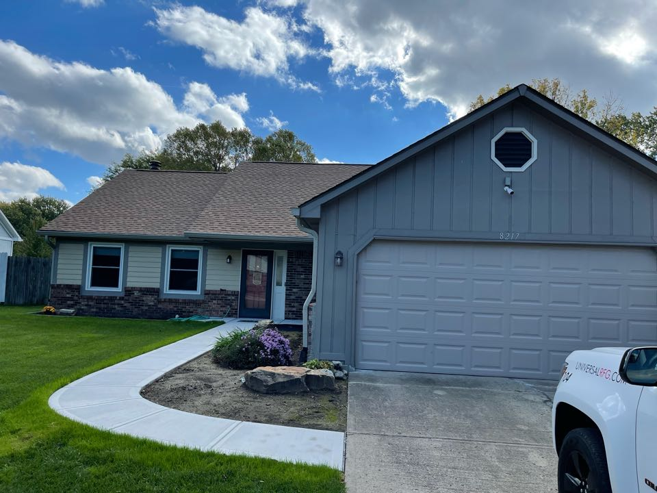 Indianapolis, IN - New roof and gutters completed
