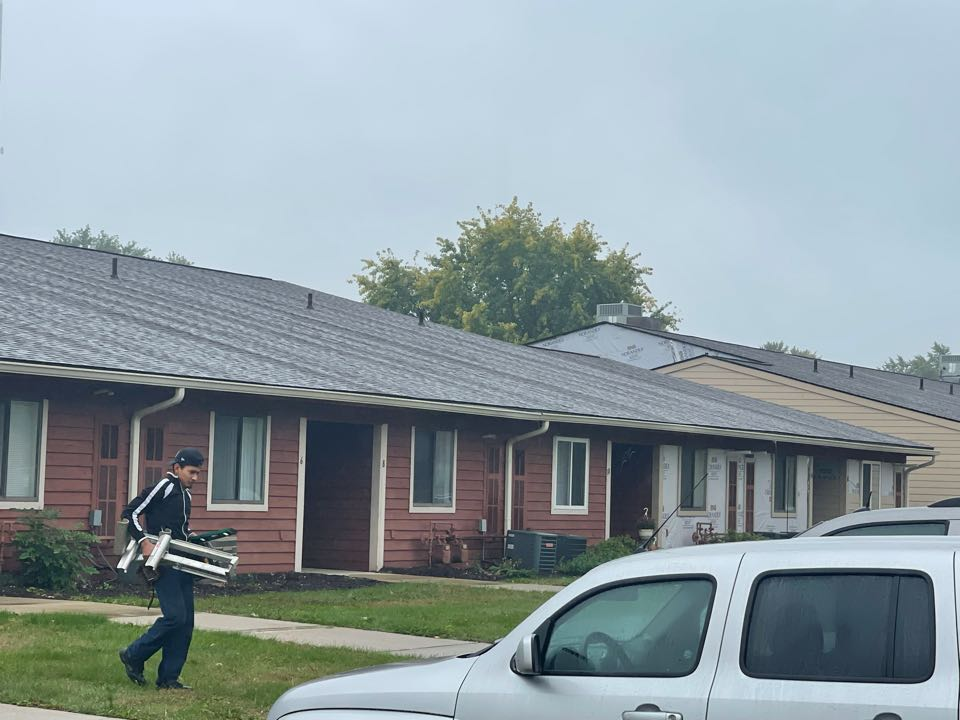 Indianapolis, IN - New siding going in