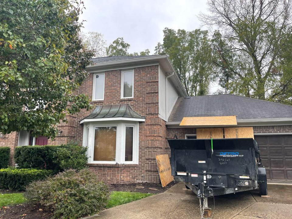 Indianapolis, IN - New roof being installed
