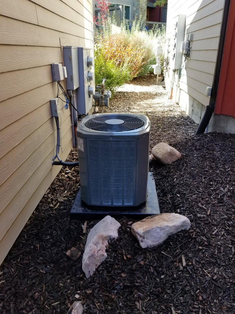 Park City, UT - Quality audit on a new trane furnace and air conditioner
