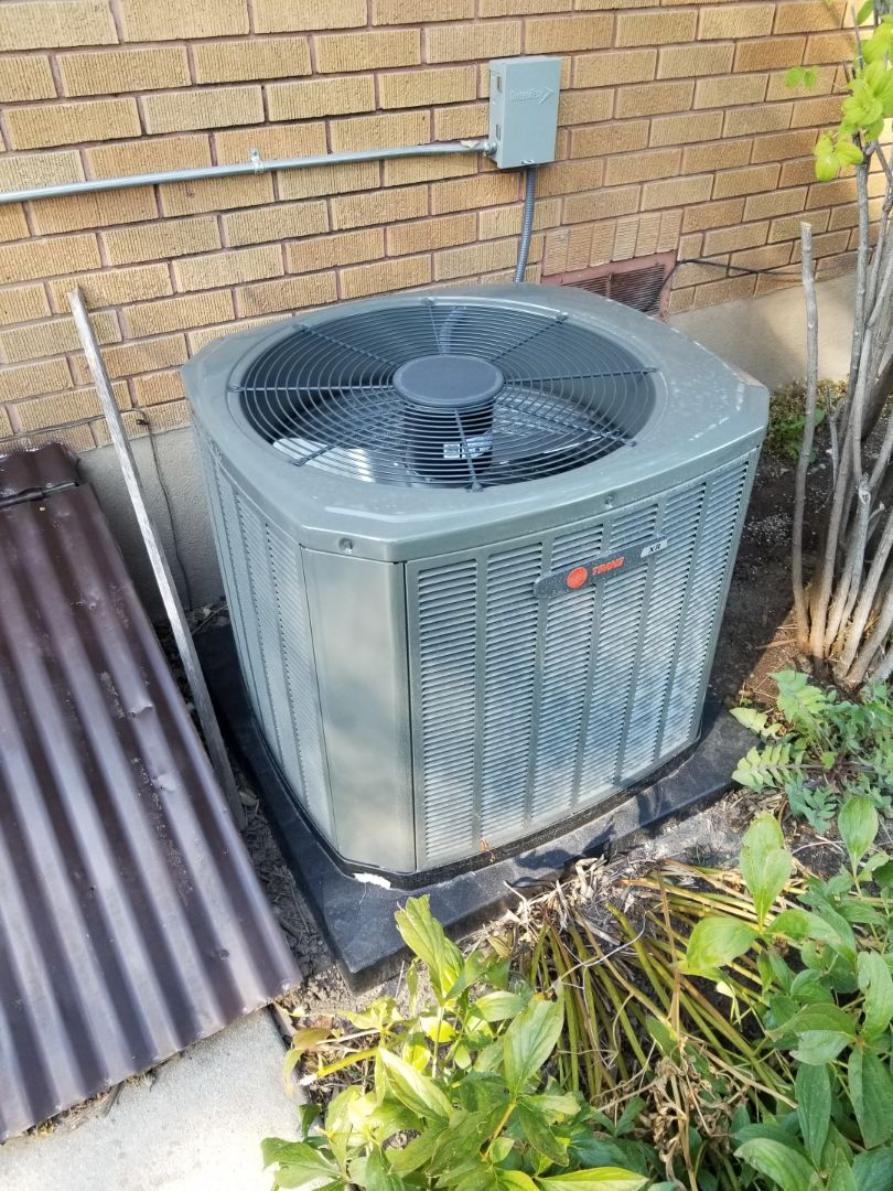 West Valley City, UT - Quality audit on a new trane air conditioner