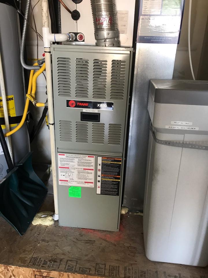 Draper, UT - Tune up a Trane furnace