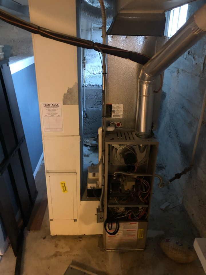 South Salt Lake, UT - Giving a free estimate to replace a ducane furnace with a new high efficient furnace. Gave options that qualify for rebates from dominion and federal taxes credits.
