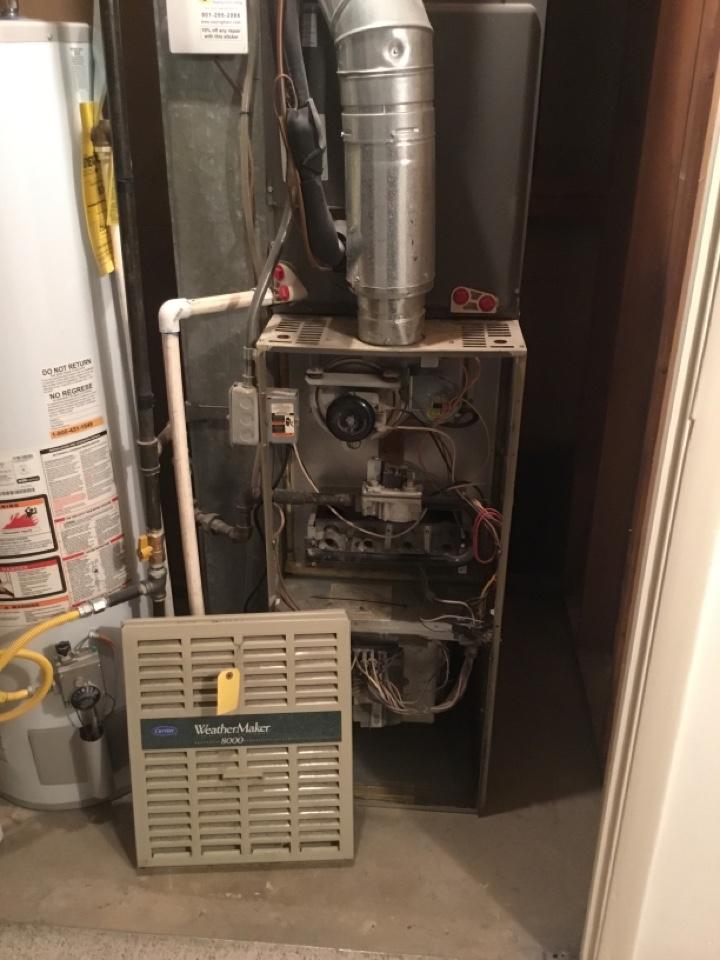 Midvale, UT - Remove carrier furnace