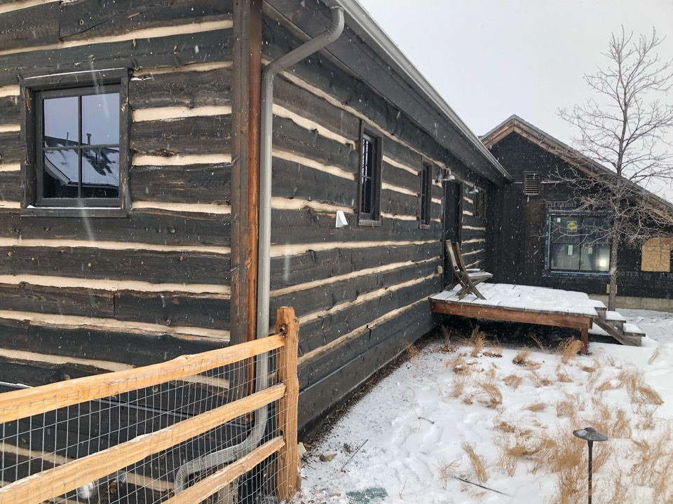 """Park City, UT - Giving an estimate to install a new 2 headed ductless/mini-split system. They have an """"apartment"""" above a garage that has in floor heat but no cooling. With them spending more time in there they want to make it more comfortable in the summer months as it gets quite warm."""